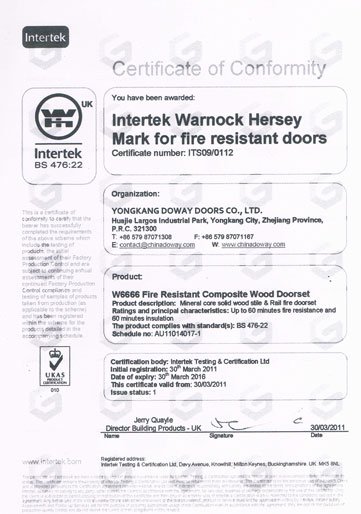 fire-wood door